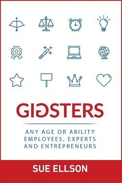 Book cover with Gigsters on cover