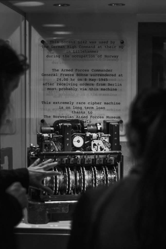 World War 2 machine at Bletchley Park