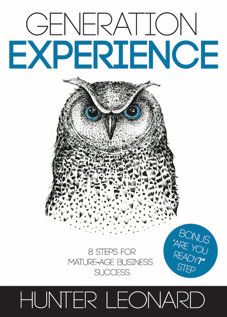 Black, white, blue book cover with an owl on cover.